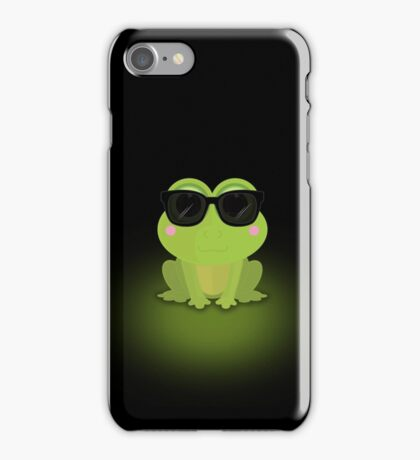 Cool Frog iPhone Case/Skin
