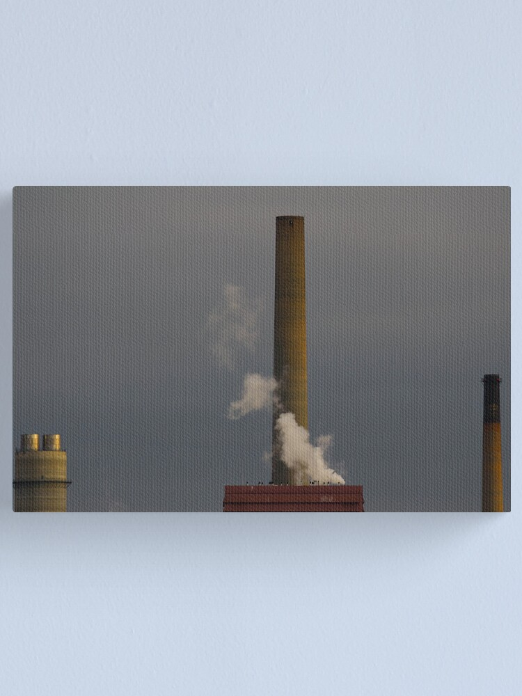 Alternate view of Cold Stacks Canvas Print