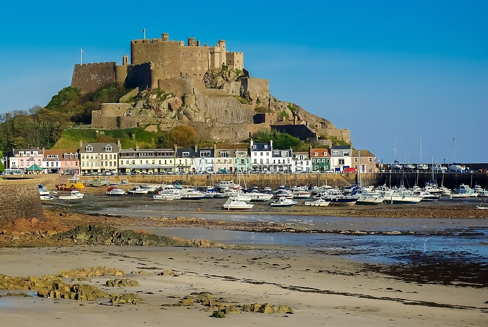 Jersey - Mont Orgueil castle by Matt Howells