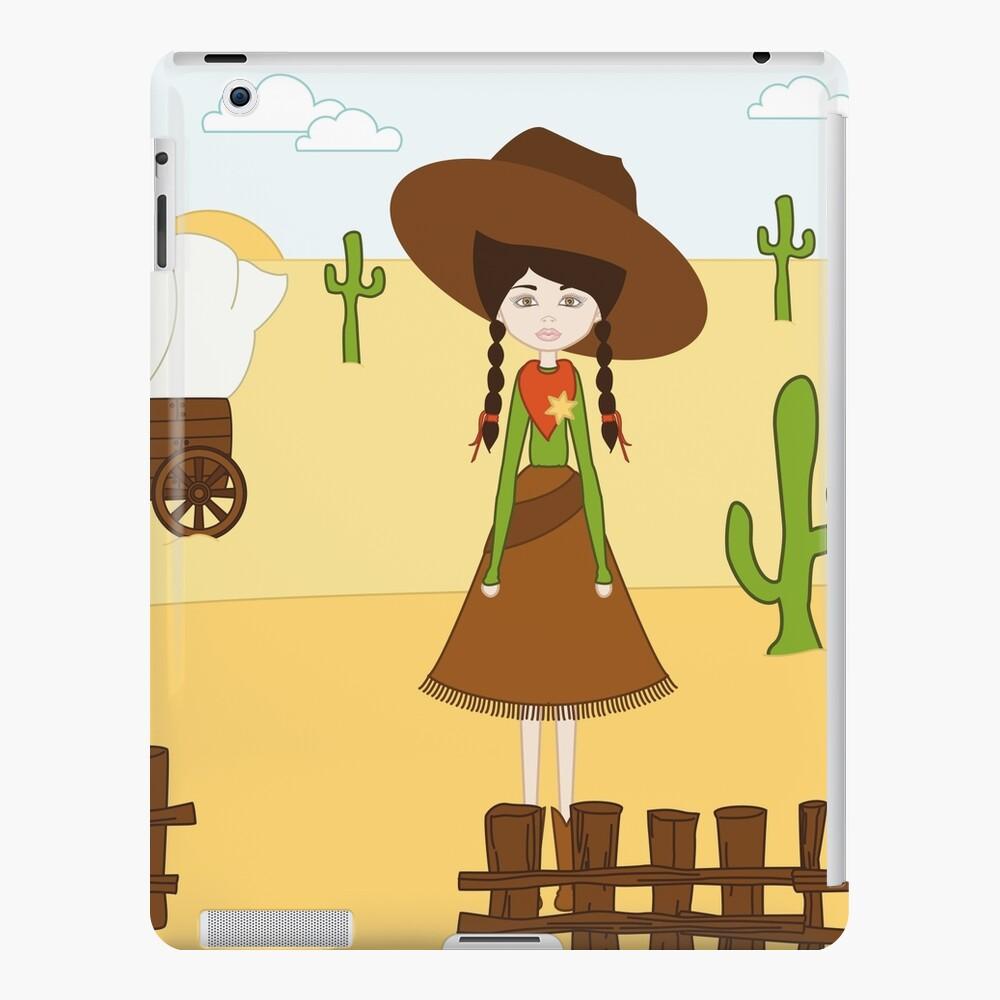 Celeste, la Vaquera del Oeste Funda y vinilo para iPad