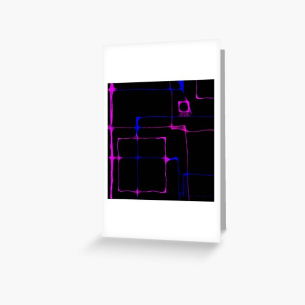 Scribbler abstract Greeting Card