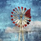 The Windmill ~ Dedicated To farmers Around The World by Marie Sharp