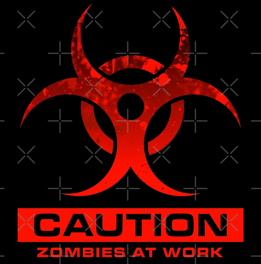 Zombies at Work by zombiegirl01