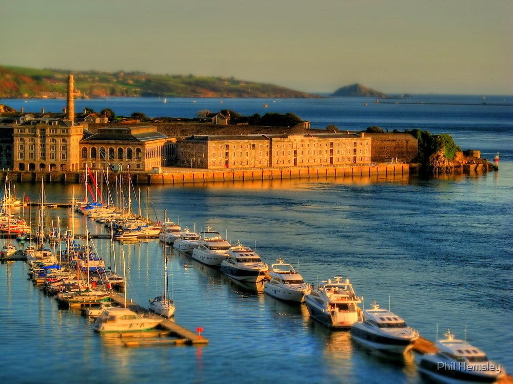 Gulliver's Travels to The Royal William Yard by phil hemsley