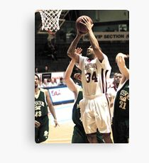 UIndy vs Missouri St 6 Canvas Print