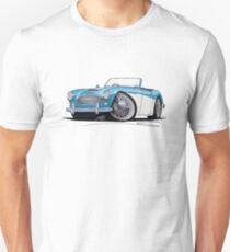 Austin-Healey 3000 Blue/White Unisex T-Shirt