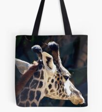 Baby giraffe second time Tote Bag