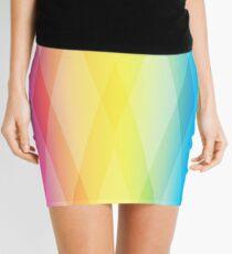 Pan Pattern Sans Text Mini Skirt