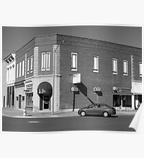 Abilene, Kansas - 2nd and Broadway Poster