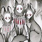 The Kitsune Companions by TeaKitsune