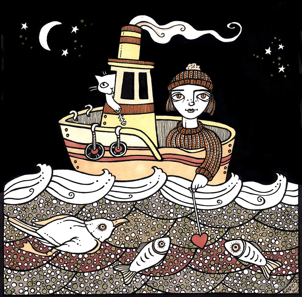 Tammie's Tug Boat  by Anita Inverarity