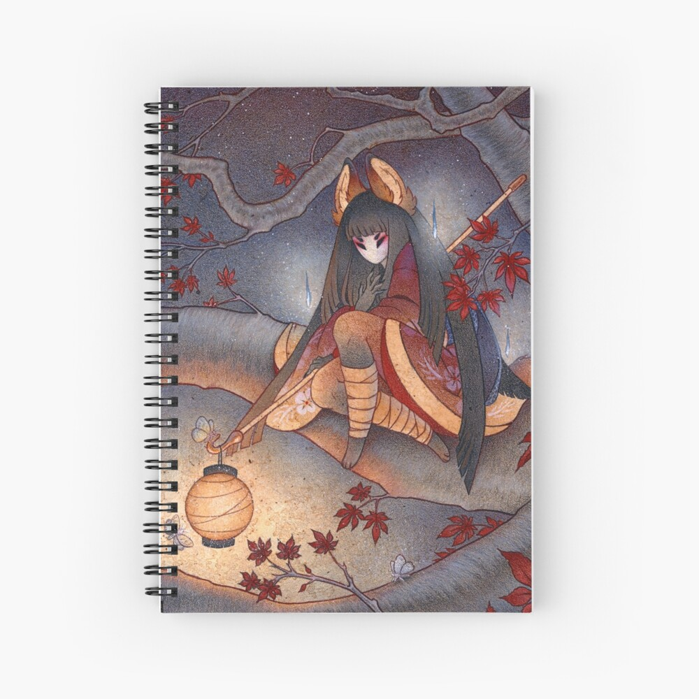 Lantern Light Spiral Notebook