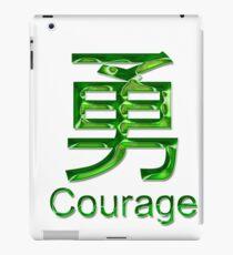 COURAGE KANJI iPad Case/Skin