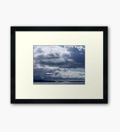 Rolling Clouds Framed Print
