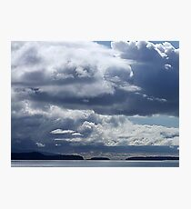 Rolling Clouds Photographic Print