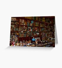 0594 The Corner Shop Greeting Card