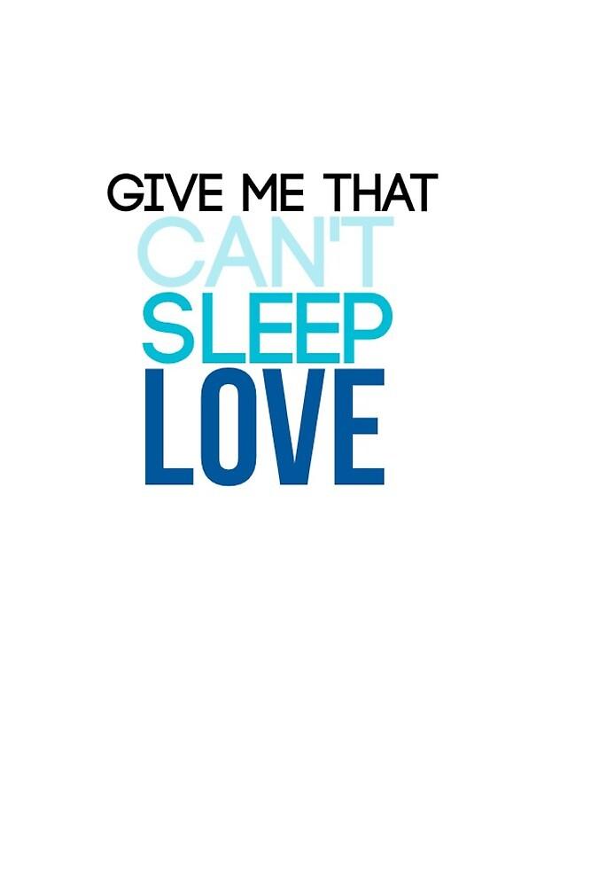 pentatonix can't sleep love blue ombre by sarabbz