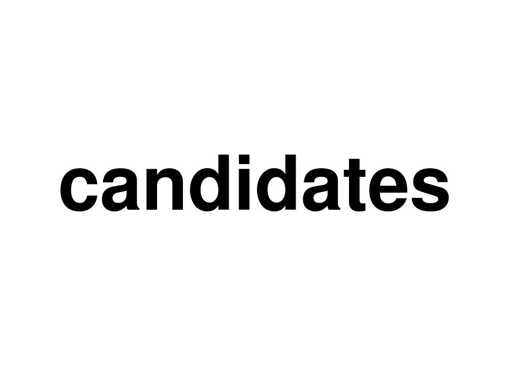 candidates by ninov94