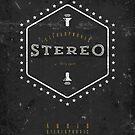 Stereo Super Sound von Black Sign Artwork