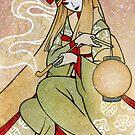Yoshiko - Tanuki Yokai Japanese by TeaKitsune