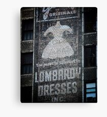 Lombardy Dresses Canvas Print