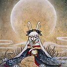 Reflect - Usagi Moon Rabbit by TeaKitsune