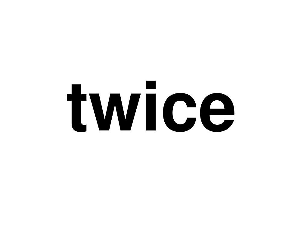 twice by ninov94