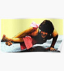#602  Yoga Pose #2 Poster