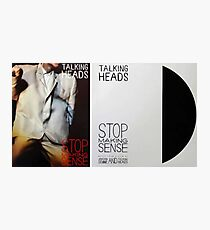 Stop Making Sense Photographic Print