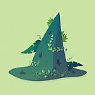 Witch's hat - Green by Sunshunes