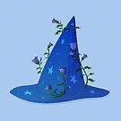 Witch's hat - Blue by Sunshunes