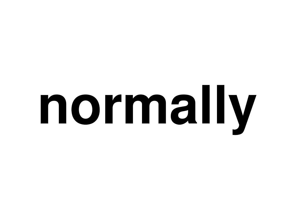 normally by ninov94