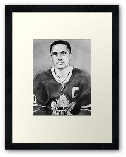 George Armstrong (Toronto Maple Leafs) by Graham Beatty