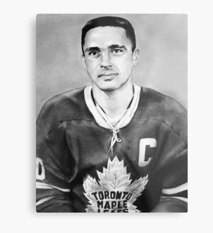George Armstrong (Toronto Maple Leafs) Metal Print