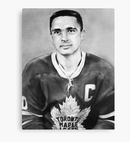 George Armstrong (Toronto Maple Leafs) Canvas Print