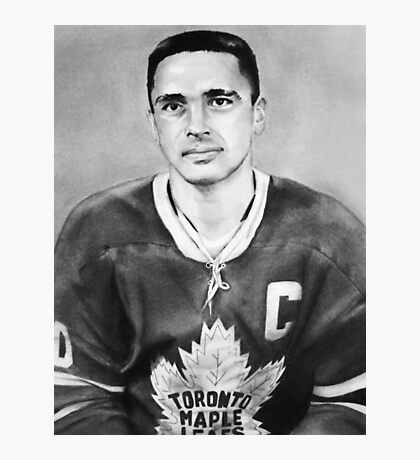 George Armstrong (Toronto Maple Leafs) Photographic Print