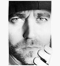 Henrik Malmborg Self Portrait - Look deep into my Eyes! Poster