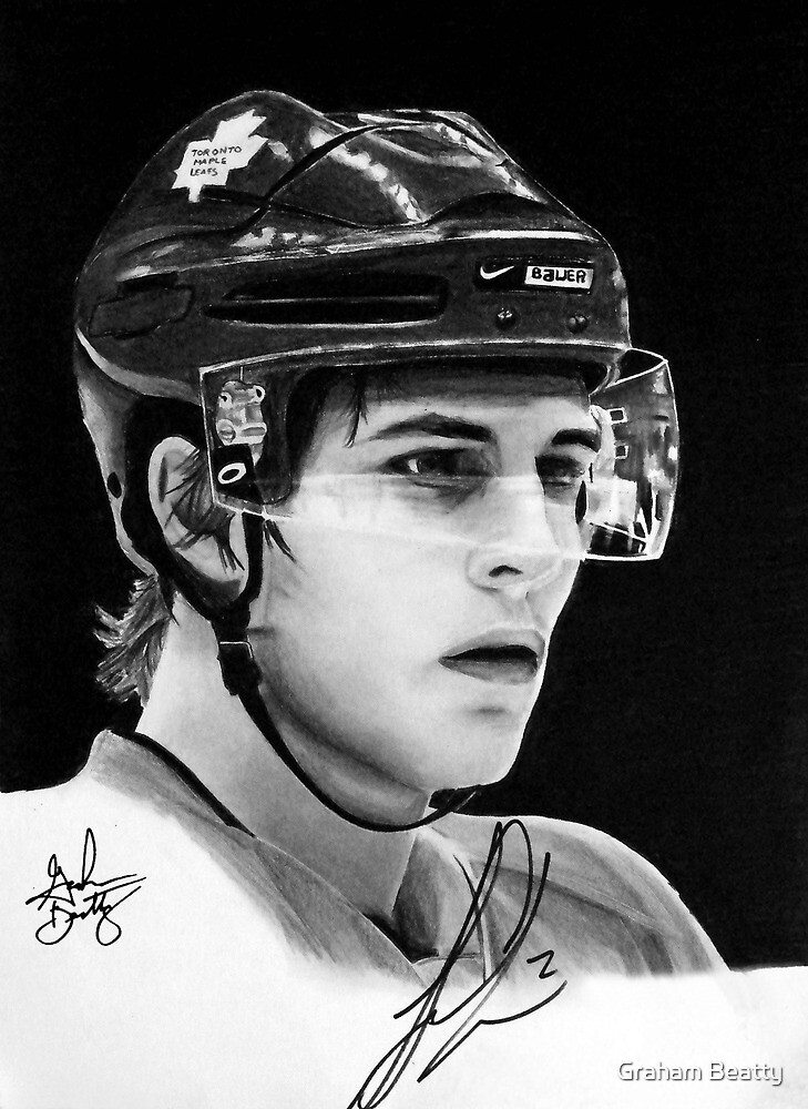 Luke Schenn (Toronto Maple Leafs) by Graham Beatty
