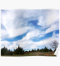 Big Nebraska Sky Poster