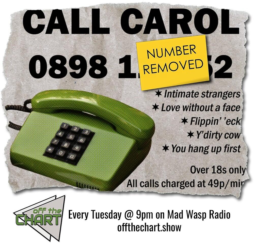 Call Carol by cuckoohead