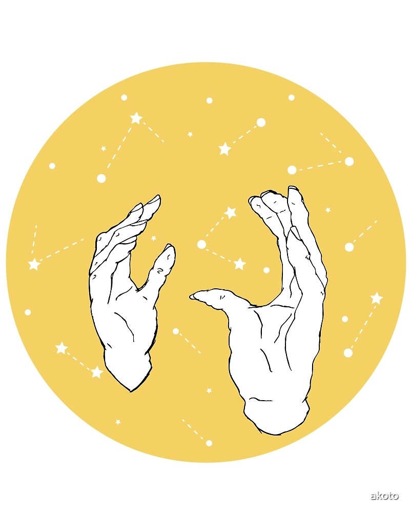 Astrological Hands by akoto