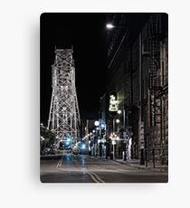 2 A.M. on South Lake Ave Canvas Print