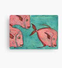 Untitled Fish 03 Canvas Print