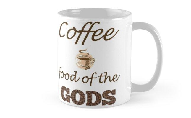 Coffee Food Of The Gods Coffee Mug by Lallinda