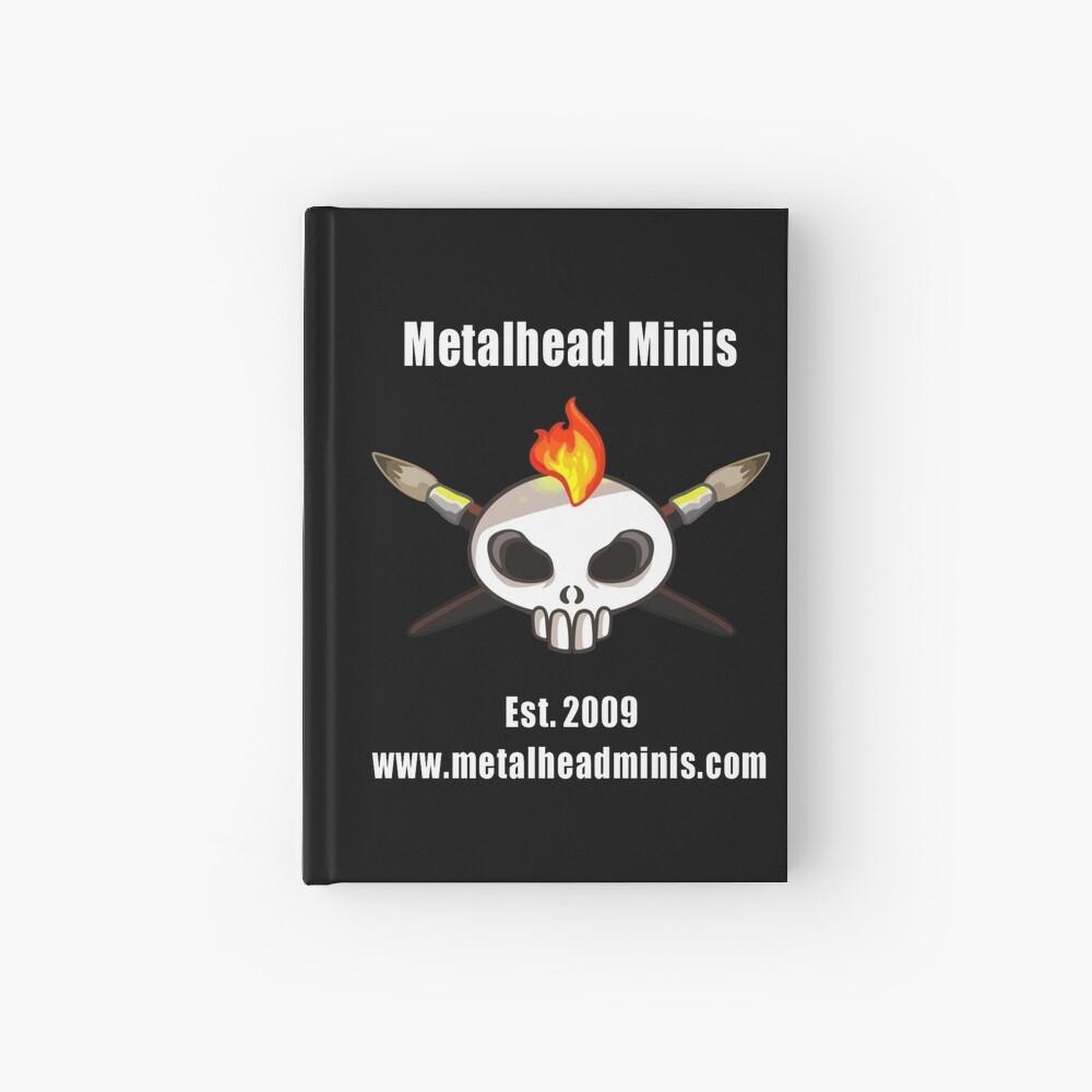 Metalhead Minis 10 Year Anniversary Logo Hardcover Journal