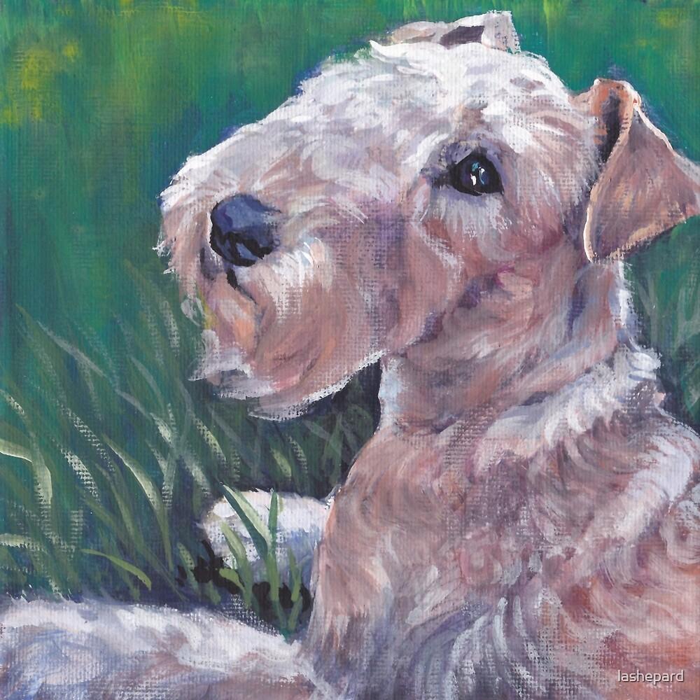 Lakeland Terrier Fine Art Painting by lashepard