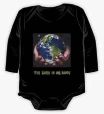 The Earth In Our Hands One Piece - Long Sleeve