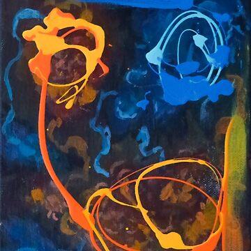 Orange and Blue by BenLingren