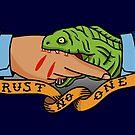 Coast Guard Trust No One by AlwaysReadyCltv