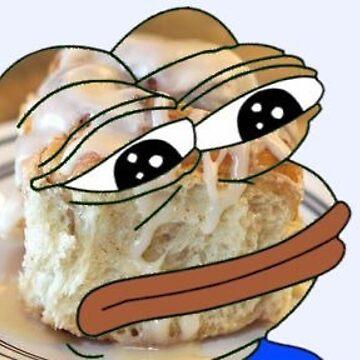 Busy Cinnamon Roll Pepe by eeeden